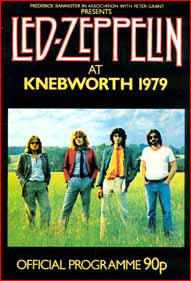 Led Zep play Knebworth 1979