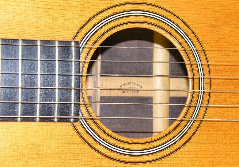 An early 19th century Martin Acoustic Guitar