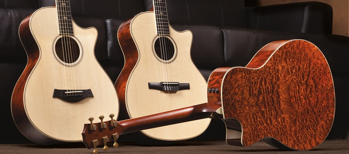 Taylor Fall 2012 Limited Edition Acoustic Guitars