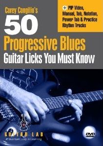 50 Progressive Blues Licks You Must Know DVD