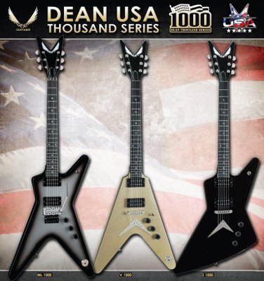 dean guitars introduces their usa thousand series guitarsite. Black Bedroom Furniture Sets. Home Design Ideas