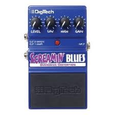 DigiTech Screamin Blues Overdrive and Distortion Pedal