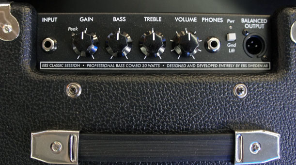 EBS Session 30 Bass Combo Amp