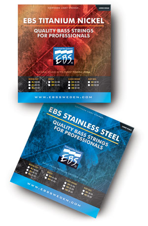 Titanium Nickel & Stainless Steel Strings from EBS