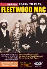 Learn To Play Fleetwood Mac DVD Cover