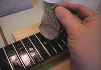 Fretboard Cleaning