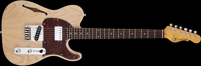 G&amp;L Bluesboy Semi-Hollow Guitars