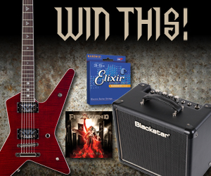 Gus G Sweepstakes