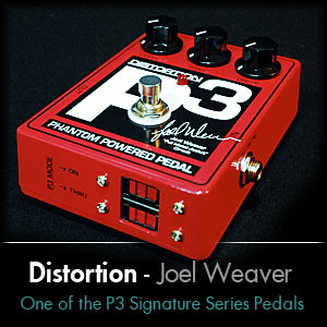 Joel Weaver Full Metal Jacket Distortion P3 Mod Pedal