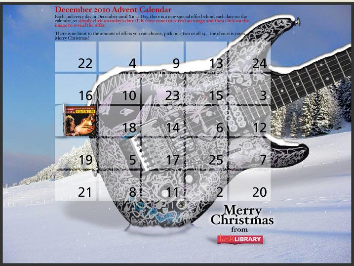Lick Library 2010 Advent Calendar