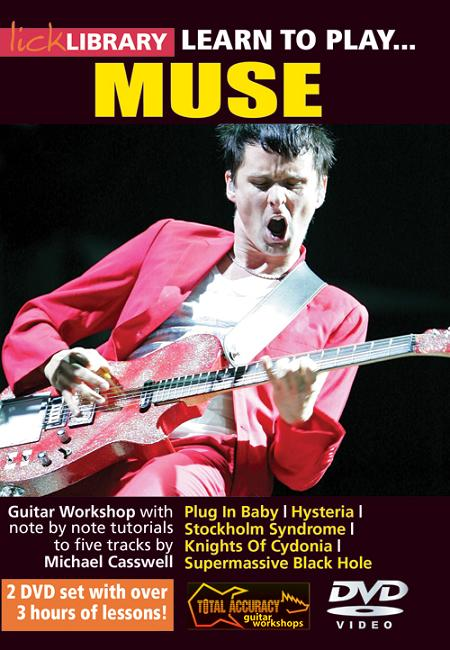 Learn To Play Muse DVD Cover