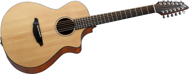 new 12 string travel and bass guitars from breedlove guitarsite. Black Bedroom Furniture Sets. Home Design Ideas