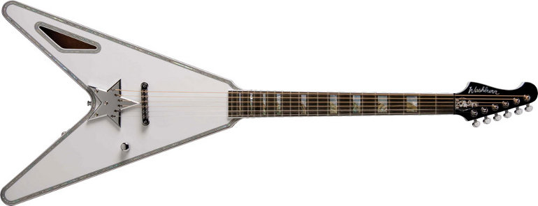 PSAV Washburn Paul Stanely Acoustic Flying-V