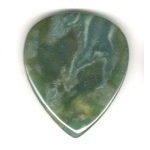 Real Rock Gemstone Guitar Pick