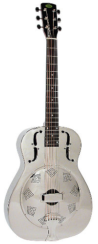 Round Neck Resonator Guitar
