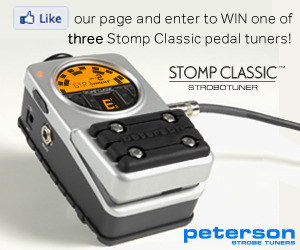 Enter to Win a Stomp Classic Pedal Tuner