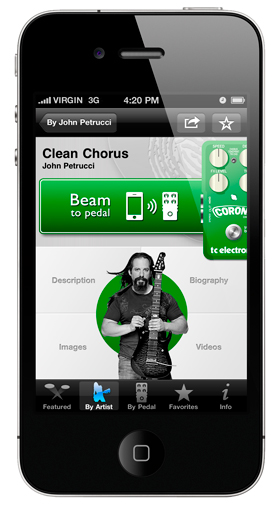TonePrint iPhone App Screenshot