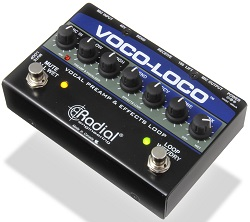 namm 2013 radial voco loco vocal preamp and effects loop guitarsite. Black Bedroom Furniture Sets. Home Design Ideas