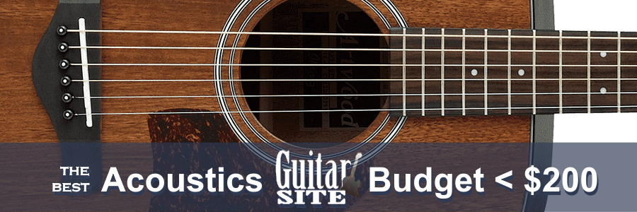 The Best Acoustic Guitars Under $200