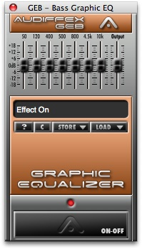 Audiffex Bass Graphic EQ