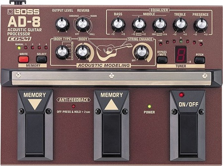Boss AD-8 BAcoustic Guitar Multi Effects
