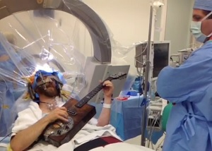 Playing Guitar While Having Brain Surgery
