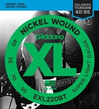 D'Addario XL Nickel Wound Balanced Tension