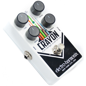 EHX Crayon Full-Range Overdrive Pedal