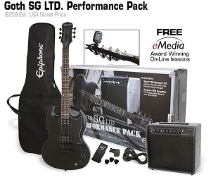 Epiphone SG Performance Pack