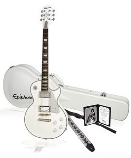 Epiphone Tommy Thayer White Lightning Les Paul Giveaway