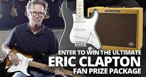 Ultimate Eric Clapton Fan Prize