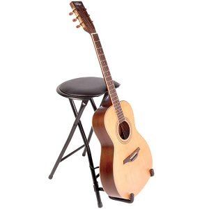Guitarist Stool and Stand with Footrest