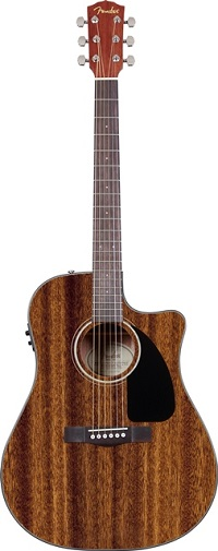Fender CD-60CE All-Mahogany Acoustic