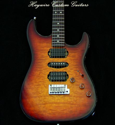 Haywire Custom Guitars Double Fat Plus Superstrat®
