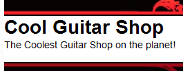 Cool Guitar Shop