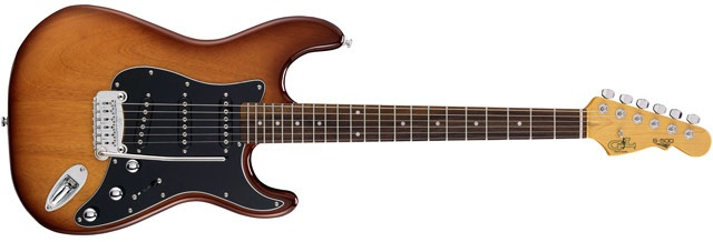 G&L Tribute Series S-500 Tobacco Sunburst