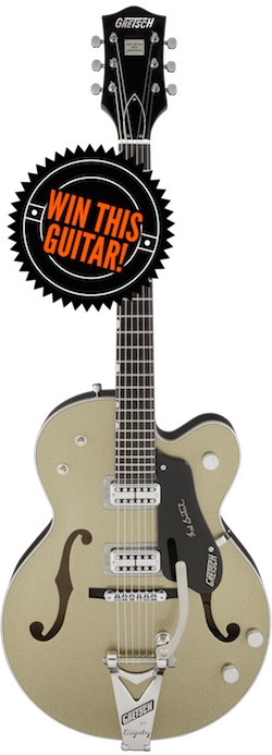 Gretsch 50th Anniversary Guitar Giveaway