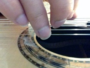 guitar fingernails