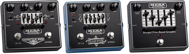 Flux-Five, Boogie Five-Band Graphic EQ, Throttle Box EQ