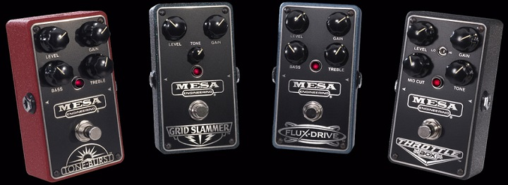 Mesa Boogie Drive and Distortion Pedals