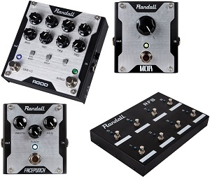New Randall Pedals