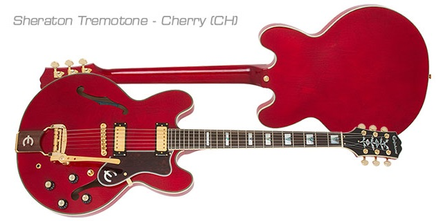 Epiphone 1962 50th Anniversary Collection Sheraton E212TV