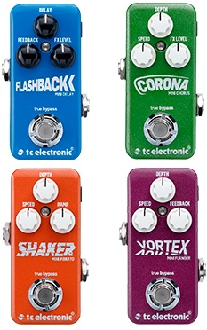 TC Electronic Mini Pedals