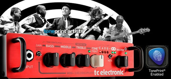 tc electronic bh250 amp head with toneprint guitarsite. Black Bedroom Furniture Sets. Home Design Ideas