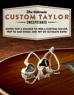 Ultimate Custom Taylor Sweepstakes