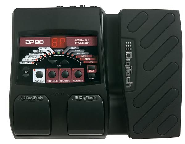 digitech introduces the bp90 bass multi effects processor guitarsite. Black Bedroom Furniture Sets. Home Design Ideas