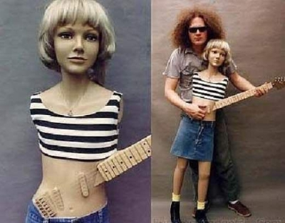 Ugly guitar - Mannequin