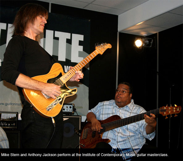 Mike Stern and Anthony Jackson