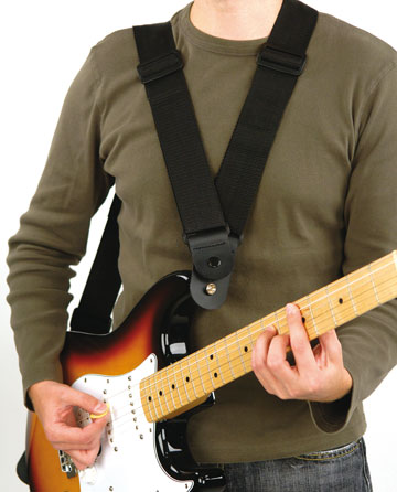 Are you a guitarist with a bad back? Dare Strap
