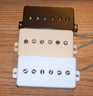 Lollar single coil telecaster pickups